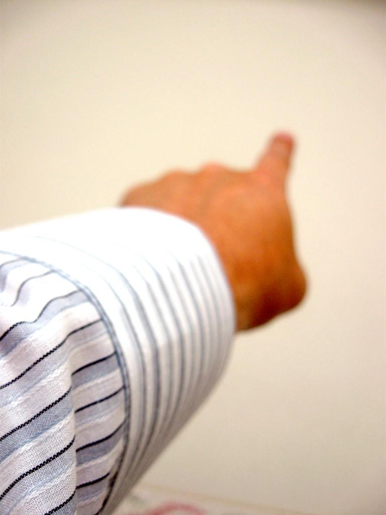 pointing-finger