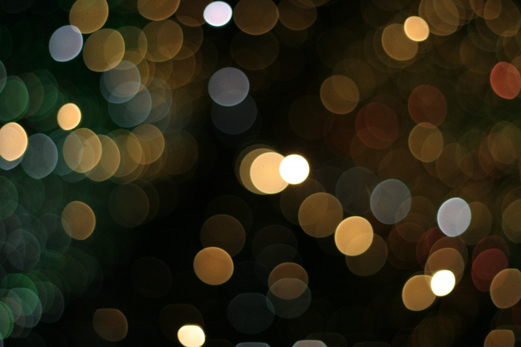 blurred lights