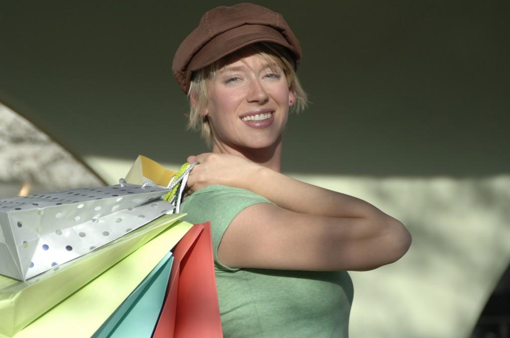 splurge on shopping
