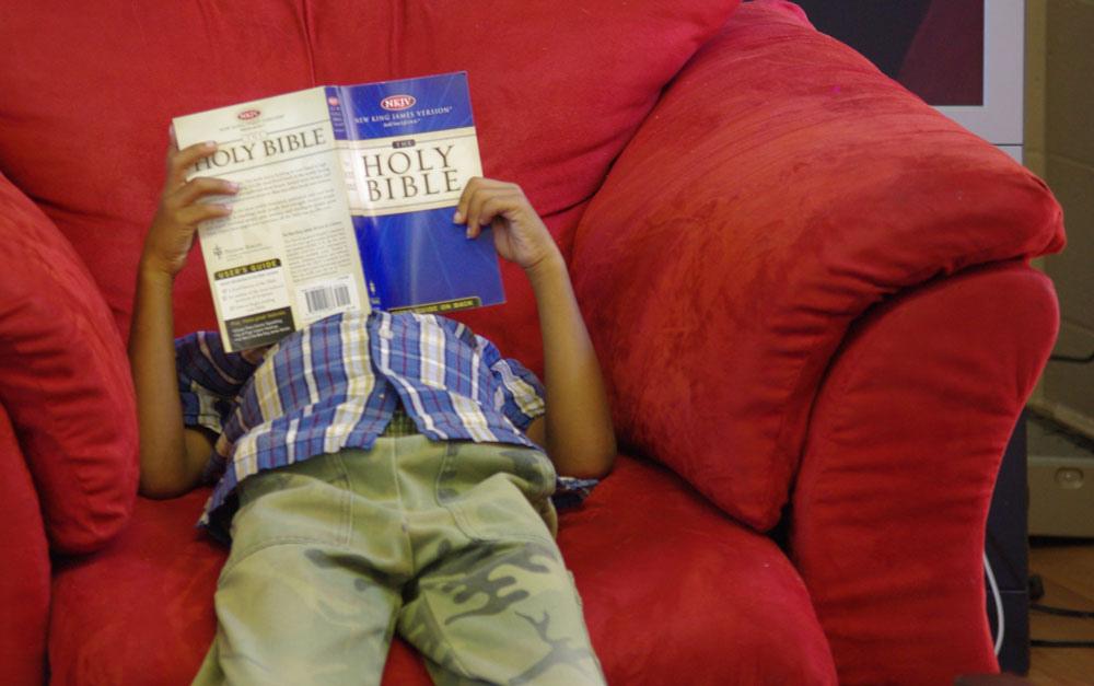 Kid & Bible