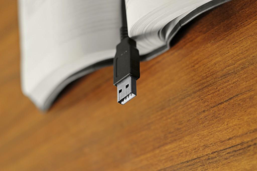 Bible and USB