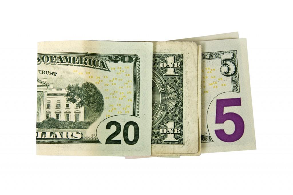 2015 written in money