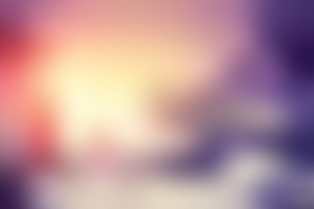 Winter Sunset Blurred Background