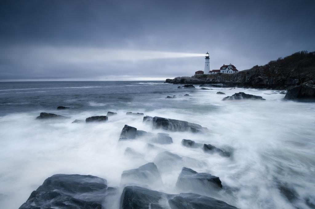 Dark seas lighthouse
