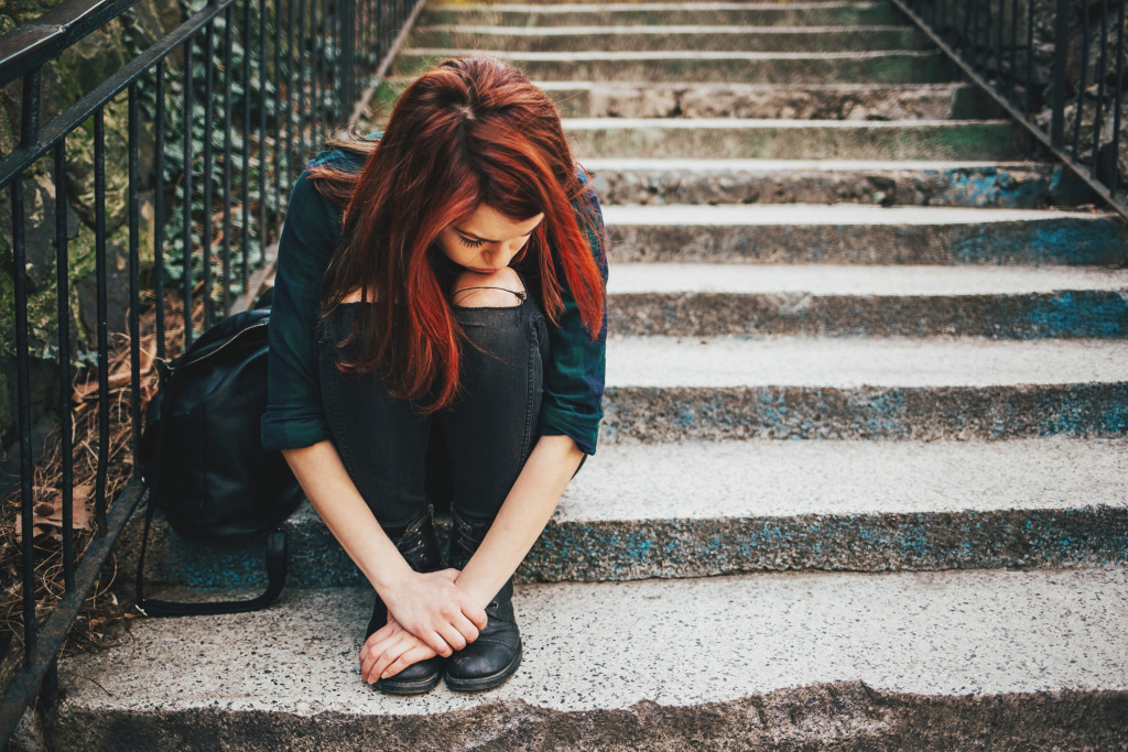 lonely-girl-on-stairs
