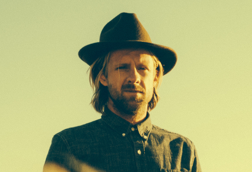 Jon Foreman portrait with hat