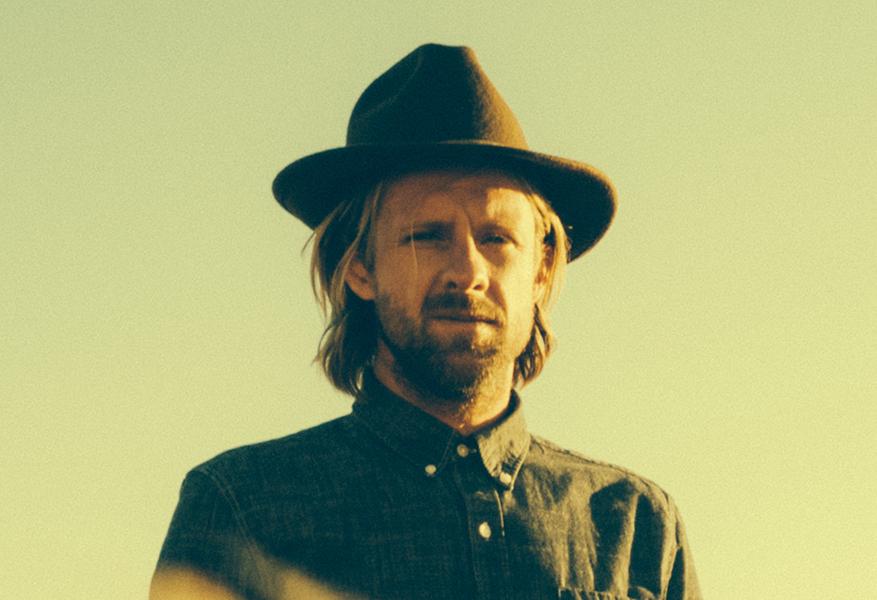 Jon Foreman portrait with hat