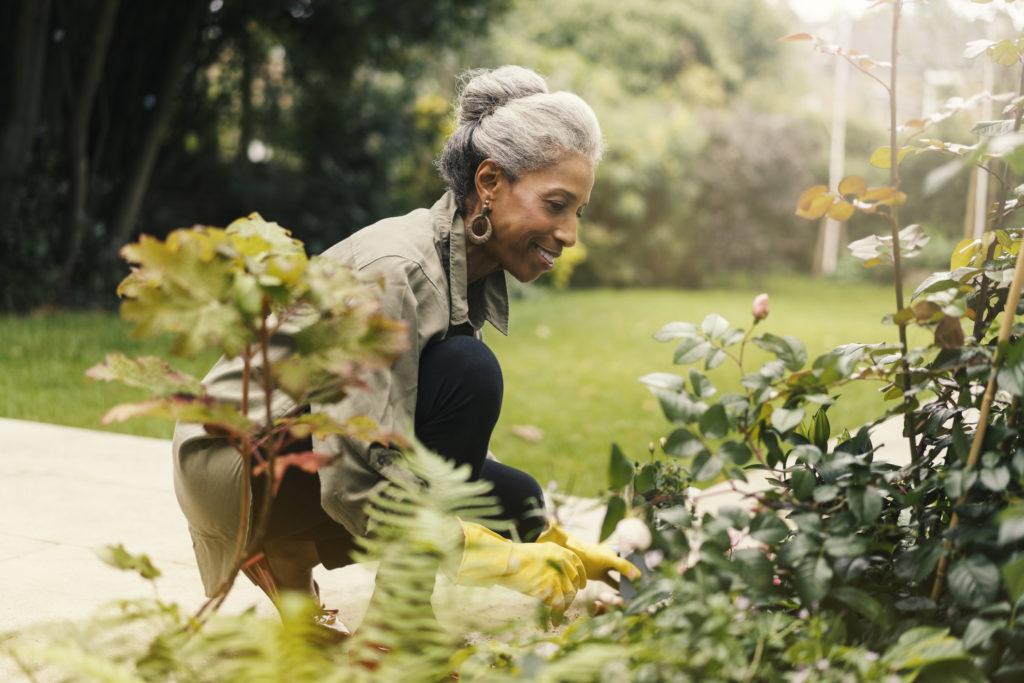 gardening-woman