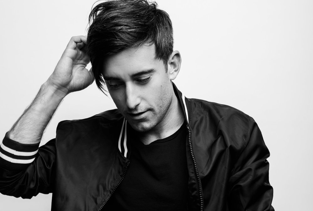 A recent black-and-white picture of worship artist Phil Wickham.